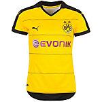 PUMA Borussia Dortmund Home Fußballtrikot Damen gelb / schwarz