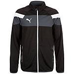 PUMA Spirit II Tricot Trainingsjacke Herren schwarz / weiß