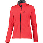 Salomon Bise Strickfleece Damen rotmelange