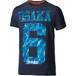Superdry Printshirt Herren dunkelblau