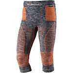 X-Bionic Accumulator Evo Funktionsunterhose Herren graumelange/orange