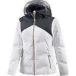 Ziener Tatiki Skijacke Damen weiß/blau