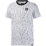 adidas Printshirt Herren weiß/schwarz