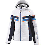 CMP Retro Skijacke Damen weiß/blau