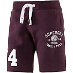 Superdry Shorts Herren bordeaux