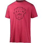 DAKINE Arrow Hood Printshirt Herren rot