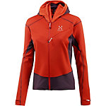 Haglöfs Touring Fleecejacke Damen orange/lila