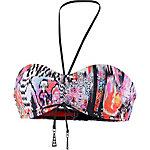 Seafolly Beach Gipsy Bikini Oberteil Damen schwarz/nektarine/bunt