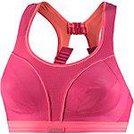 Shock Absorber RUN Sport-BH Damen pink/koralle