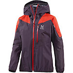 Haglöfs Touring Active Funktionsjacke Damen lila/orange
