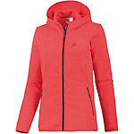 Salomon Bise Strickfleece Damen rot