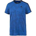 adidas Essential 3S Funktionsshirt Herren blau