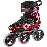 POWERSLIDE Imperial Supercruiser Speed Skates Damen weinrot/metallic
