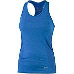 Nike Dri-Fit Knit Tanktop Damen dunkelblau