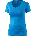 Nike Pro Dry Fit Funktionsshirt Damen blau