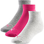 PUMA Socken Pack Damen pink/grau