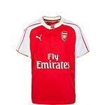 PUMA Arsenal London 15/16 Heim Fußballtrikot Kinder rot / weiß / gold