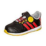 adidas Disney Classic Fitnessschuhe Kinder schwarz / rot / gelb