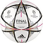 adidas Finale Mailand Competition Fußball weiß / silber / pink