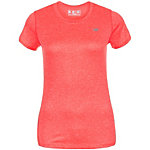 NEW BALANCE Heathered Laufshirt Damen pink