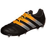 adidas ACE 16.2 Leather Fußballschuhe Herren schwarz / orange