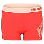 Nike Pro Logo Tights Damen rot / rosa