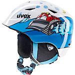 Uvex airwing 2 Skihelm Kinder weiß/blau