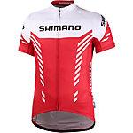Shimano Fahrradtrikot Herren rot/weiß