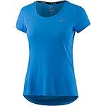 Nike Dri-Fit Contour Laufshirt Damen hellblau
