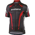 Shimano Performance Print Fahrradtrikot Herren schwarz/rot