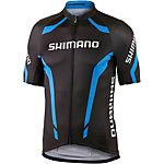 Shimano Performance Print Fahrradtrikot Herren schwarz/blau