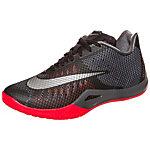 Nike HyperLive Basketballschuhe Herren schwarz / orange