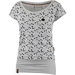 Naketano T-Shirt Damen grau melange