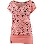 Naketano T-Shirt Damen rosa melange