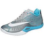 Nike HyperLive Basketballschuhe Herren grau / hellblau