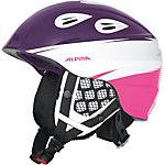 ALPINA GRAP 2.0 JR Skihelm Mädchen lila/ weiß/ pink