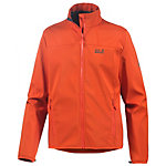 Jack Wolfskin Element Track Softshelljacke Herren orange
