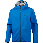 Jack Wolfskin Northern Point Softshelljacke Herren blau