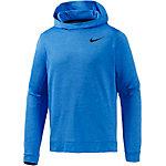 Nike Dry Training Langarmshirt Herren blau