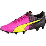 PUMA evoSPEED SL II Tricks Fußballschuhe Herren pink/gelb
