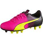 PUMA evoSPEED 5.5 Tricks Fußballschuhe Kinder pink/gelb