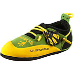 La Sportiva Stickit Kletterschuhe Kinder grün/gelb
