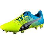 PUMA evoPower 1.3 FG Fußballschuhe Herren gelb/grün/blau