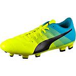 PUMA evoPower 4.3 FG Fußballschuhe Herren gelb/grün/blau