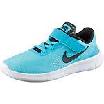 Nike FREE Laufschuhe Kinder türkis