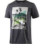 Hurley Skull Slash Printshirt Herren anthrazit