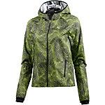 Nike Shield Laufjacke Damen schwarz/gelb