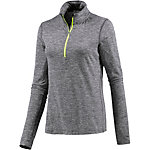 Nike Dri-Fit Element Laufshirt Damen grau