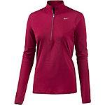 Nike Dri-Fit Element Laufshirt Damen bordeaux