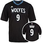 adidas Minnesota Timberwolves Rubio Replica Basketball Trikot Herren schwarz / blau